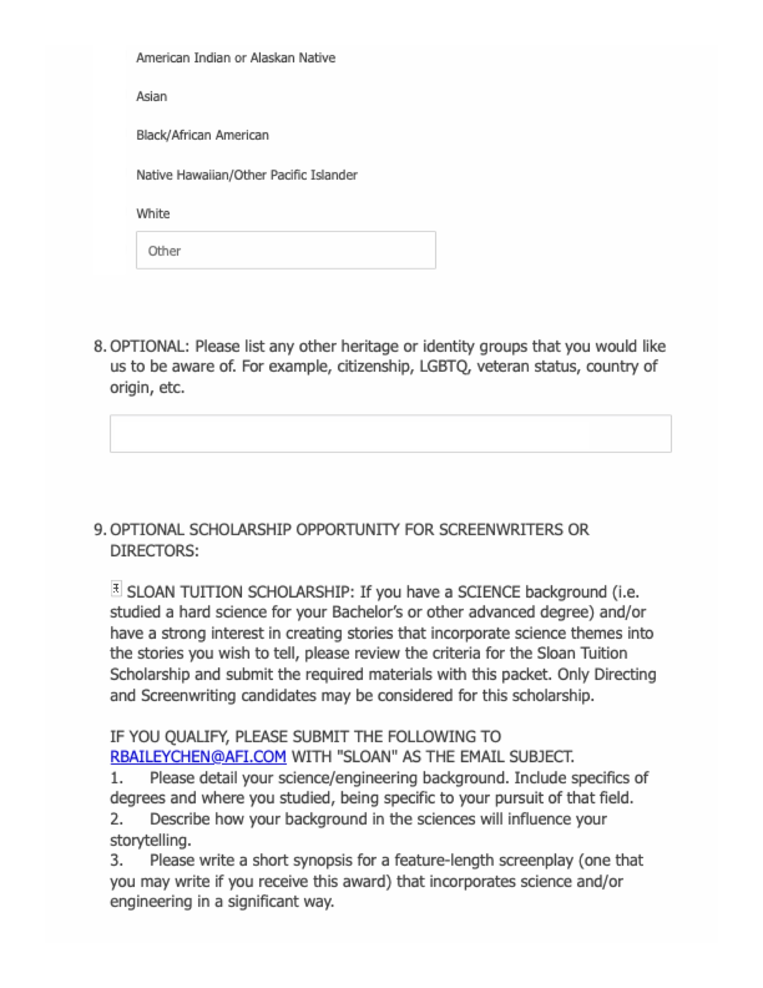 2021-2022 AFI Scholarship Application p3.jpg
