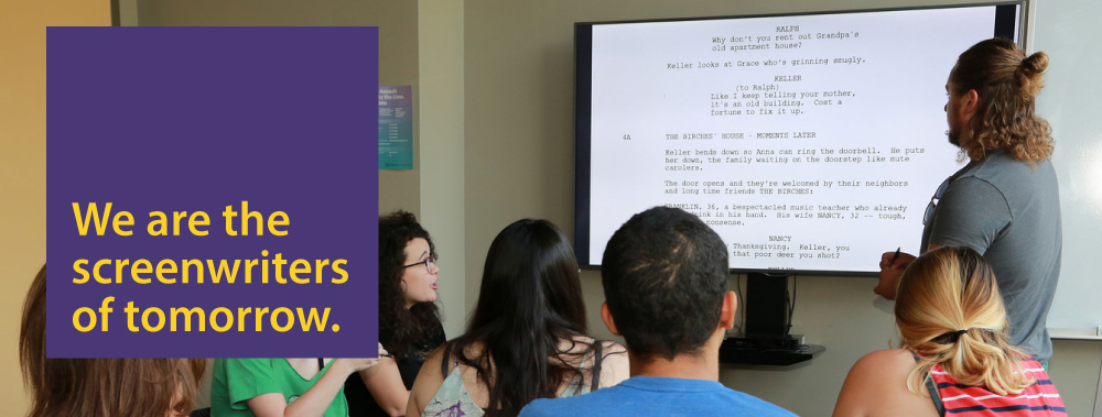 Emerson College - MFA in Writing for Film and Television